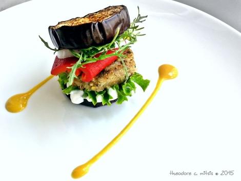 Μικρά χορτοφαγικά μπέργκερ με φακές και λευκή κινόα